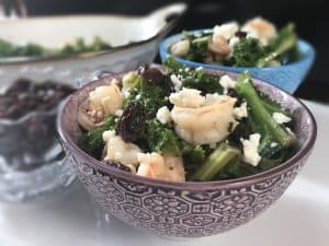 Butter Kale Shrimp