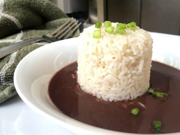 Red Beans Gravy with rice