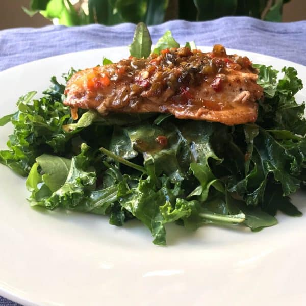 Easy, delightful, delicious, nutritious Hoagie Hoagie Salmon On Arugula Kale Salad recipe that is ready in 30 minutes or less with little to no effort. Savory Thoughts   #Salmon # Protein #salad #arugula #Kale #Hoagiespread #salmonsalad #hoagiesalmon