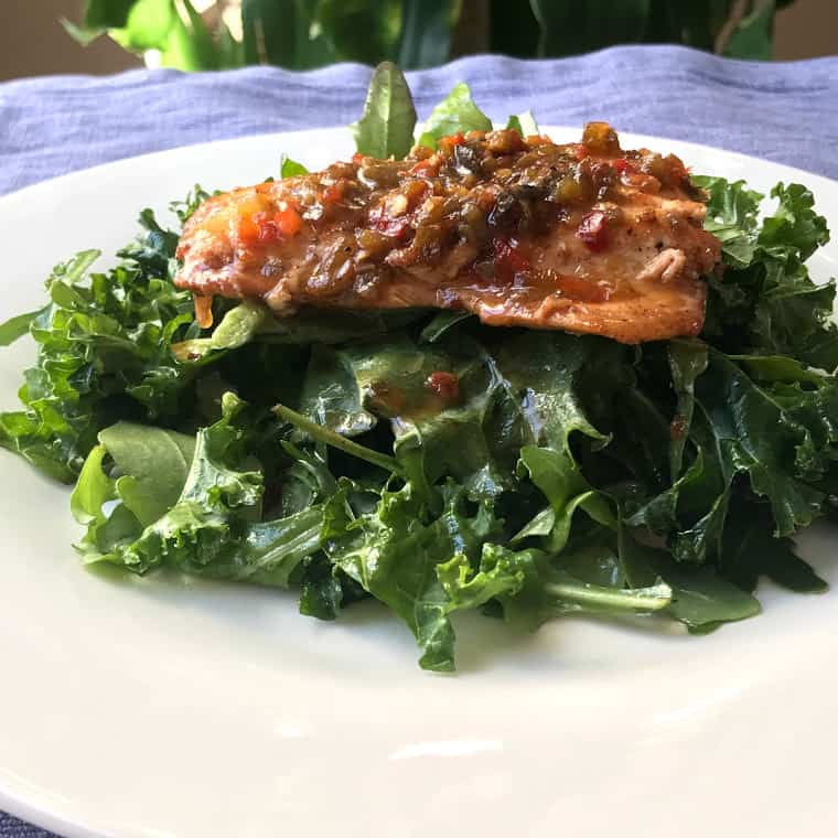 Easy, delightful, delicious, nutritious Hoagie Hoagie Salmon On Arugula Kale Salad recipe that is ready in 30 minutes or less with little to no effort. Savory Thoughts | #Salmon # Protein #salad #arugula #Kale #Hoagiespread #salmonsalad #hoagiesalmon