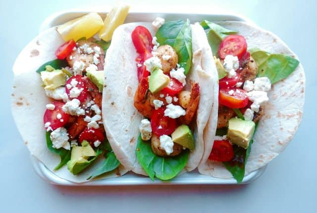 These Bold Spicy Creole Shrimp Tacos are made with bold ingredients to take the shrimp taco recipe to the next level with Creole flavors! These tacos are not only delicious but are the most flavorful tacos you'll ever try! Savory Thoughts | #shrimptacos #shrimp #taco #tacos #creolerecipe #creole #louisianaflavor #spicytaco #spicy #creoleshrimp