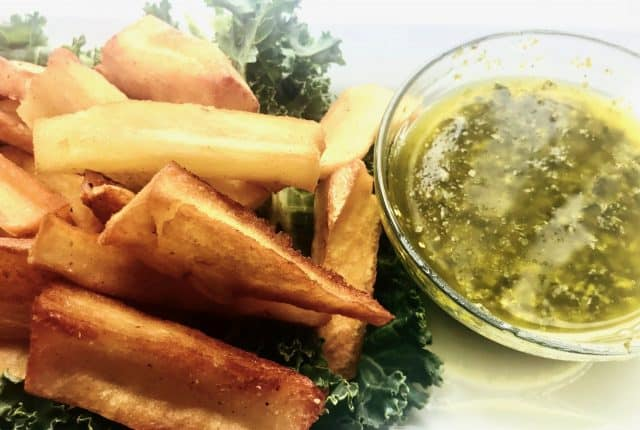 Fried Yucca Fries