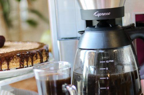 No BakeCoffeeCheesecakeW/ Dark Chocolate Coffee Ganache And Capresso Review