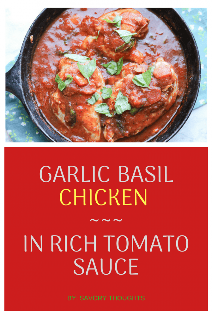 Garlic Basil Chicken