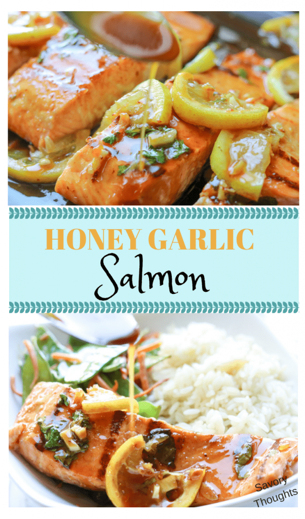 Honey Garlic Salmon. Insanely delicious honey garlic salmon recipe that's perfect for any night. Marinade and seared to perfection in a griddle pan then topped with sweet and savory honey garlic lemon glaze. #honeygarlicsalmon #salmon #honeyglazesalmon #lemonsalmon #honeygarlicsalmon #weeknightmeal #seafood #seafoodmeal #keto #ketomeal #ketosalmon