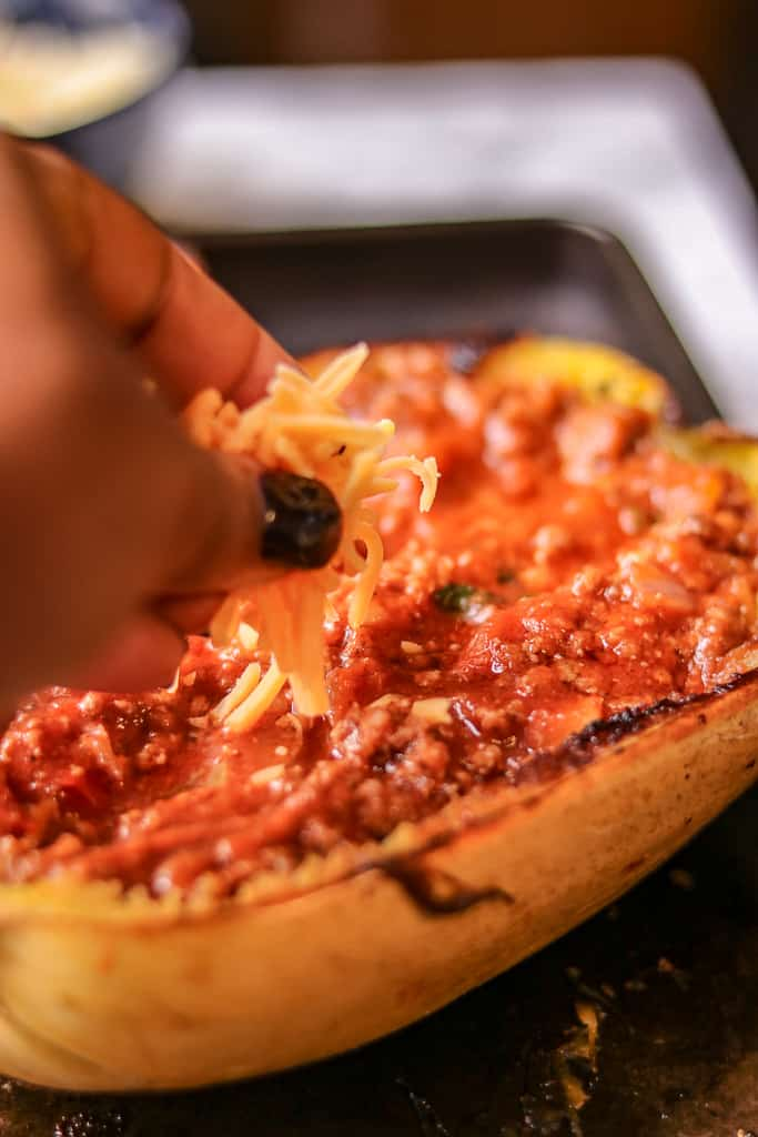 How To Cook Spaghetti Squash Boats (The Right Way