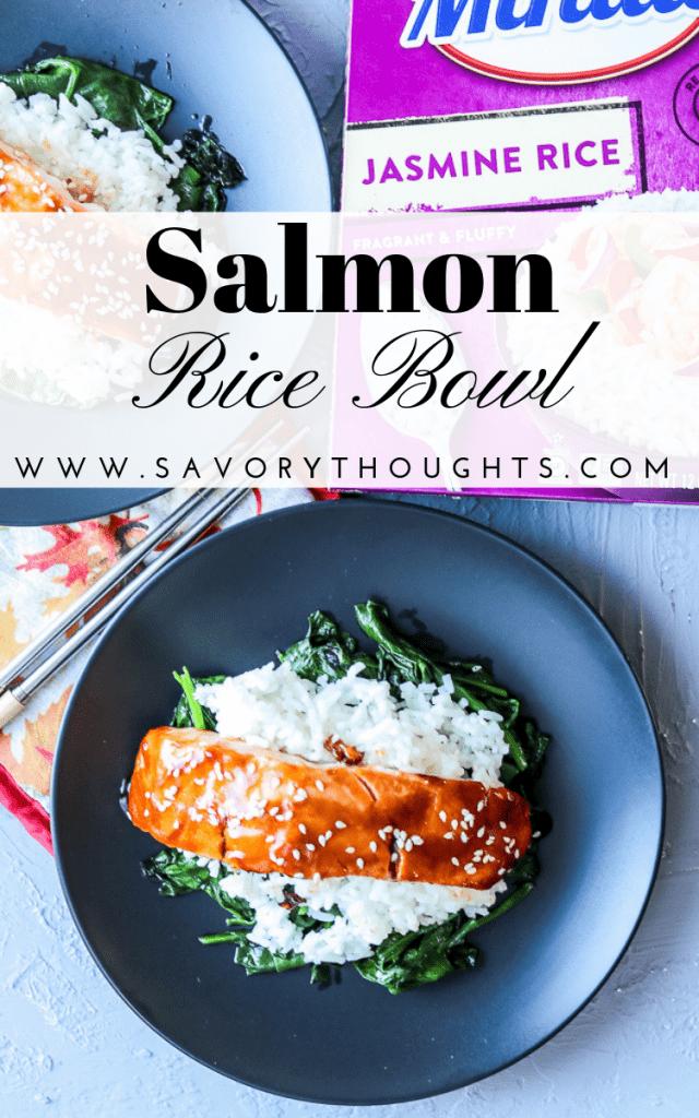 Salmon Rice Bowl.