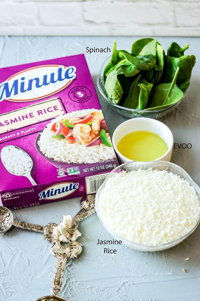 salmon rice bowl Ingredients