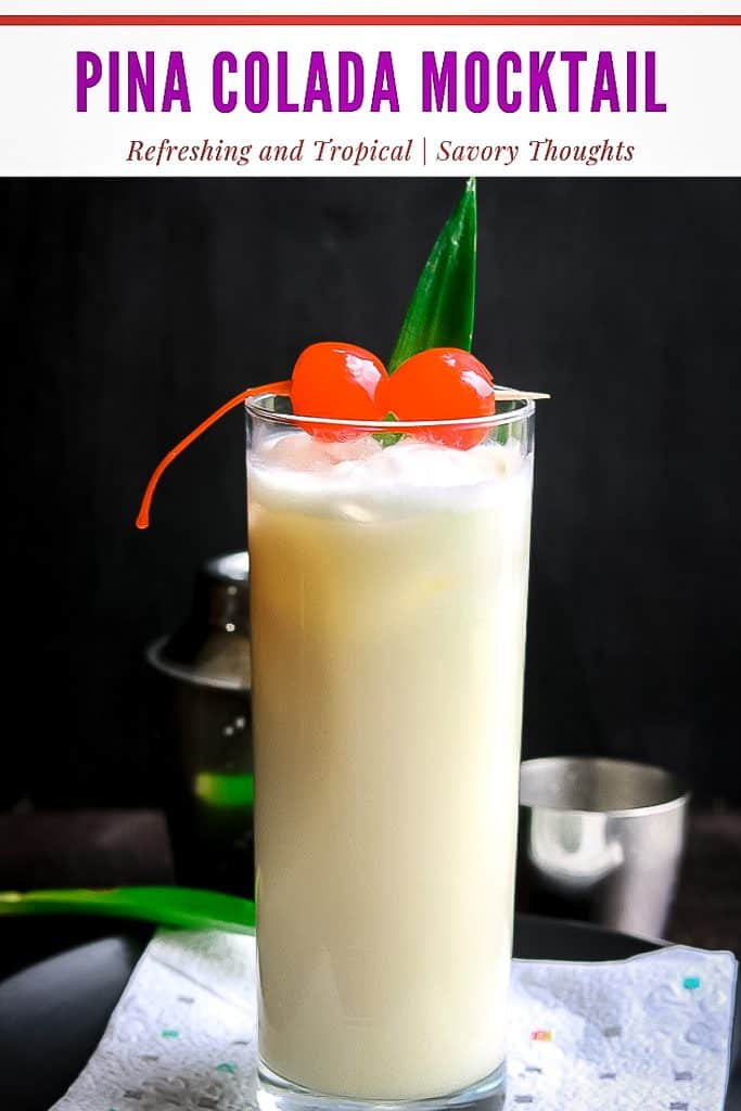 This Pina Colada, Coco Colada recipe only takes 5 minutes. Enjoy this tropical drink in no time!