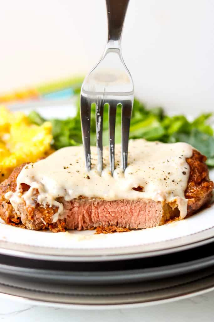 About Southern Chicken Fried Steak. Crispy and Juicy chicken fried steak recipe.