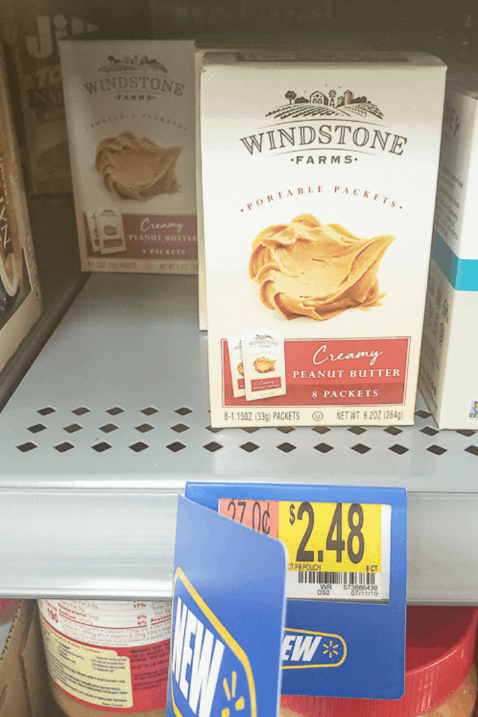 Windstone Farms Creamy Peanut Butter Portable Packets