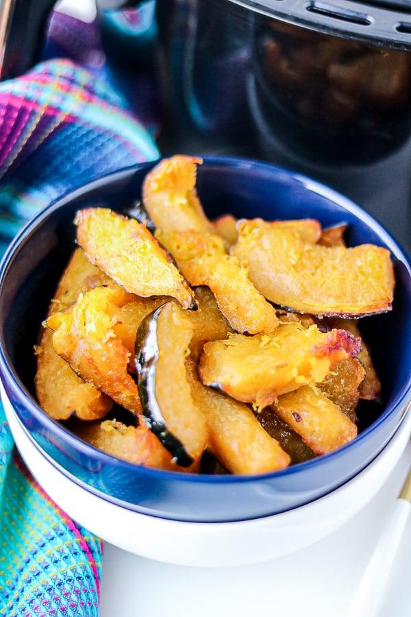 Air Fryer Roasted Acorn Squash Slices Recipe