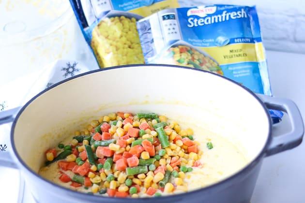 mixed vegetables frozen
