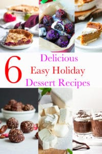 Easy Holiday Dessert Recipes - Holiday Dessert recipes to bring in Thanksgiving, Christmas, New Years. Decadent dessert pies, Christmas cookies, New Years party celebration food recipes, hot chocolate recipes. These easy holiday dessert recipes will have you entertaining all season long. #holidaydessert #holidaytreats #holidaypies #sweetpotatopies #christmas #thanksgiving #newyears #treats #sweettreats #pies