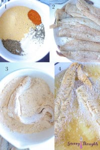 How to make southern fried fish? step by step guide