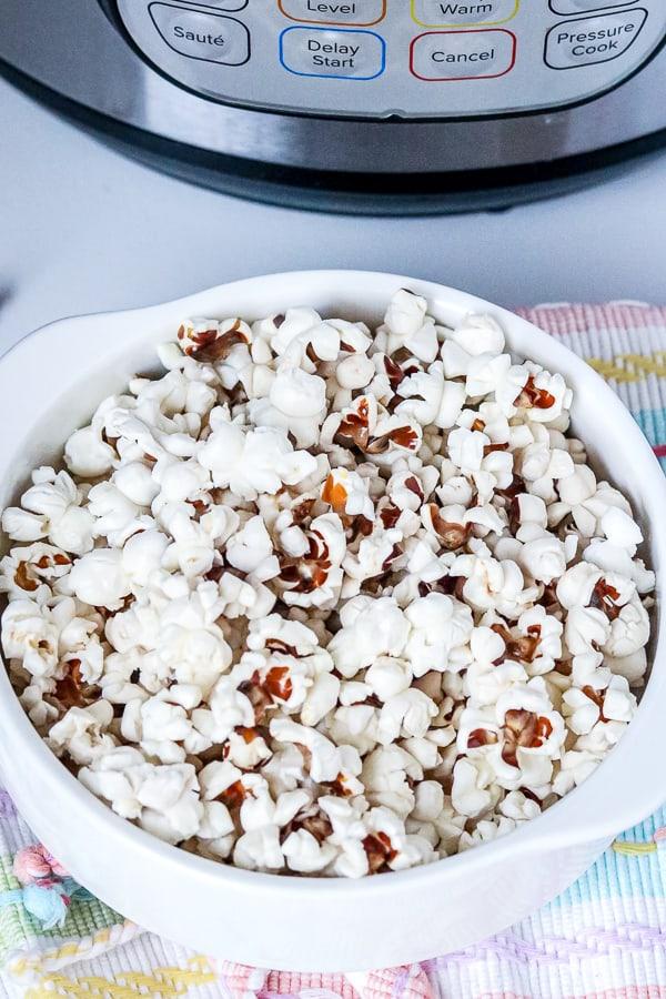 homemade instant pot popcorn recipe