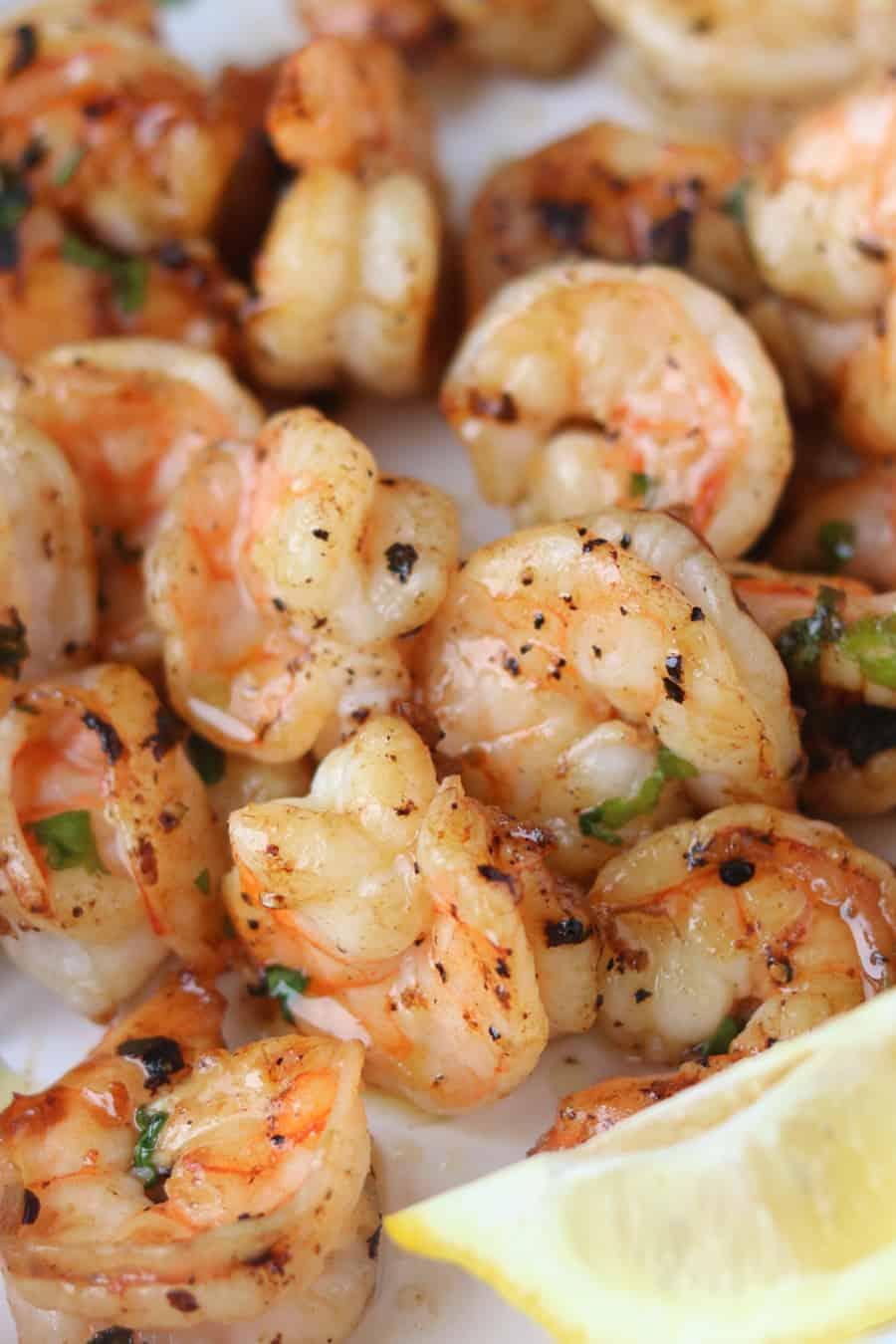 Air fryer garlic butter shrimp recipe pinterest pin