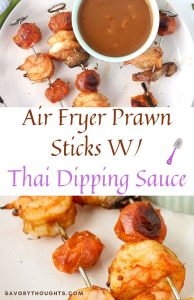 Thai Prawn Sticks Pinterest Pin