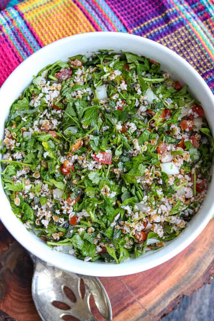 Lebanese Tabouli Recipe
