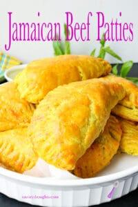 Jamaican Beef Patties Pinterest Pin