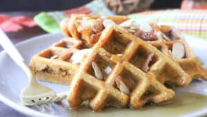 Easy Pumpkin Waffles Recipe