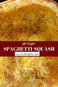 Spaghetti Squash Recipe Pin
