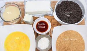 air fryer cheesecake ingredients