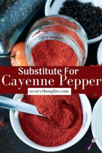 Substitute For Pepper Pinterest Pin