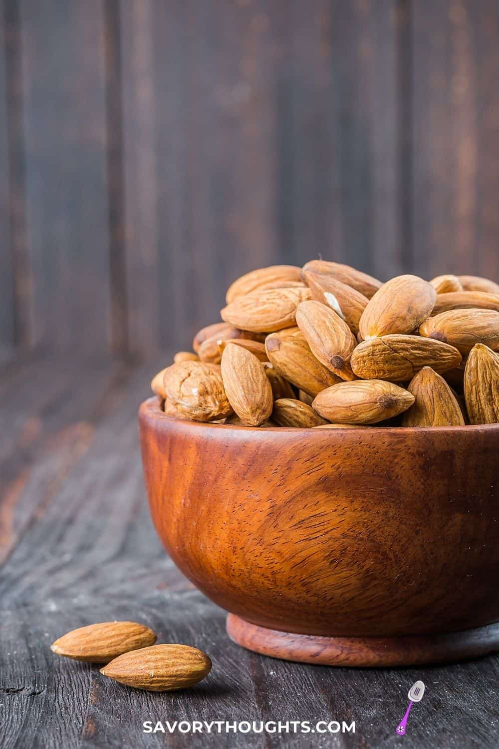 Food that starts with A Almond picture