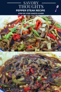 Pepper Steak Recipe - Savory Thoughts