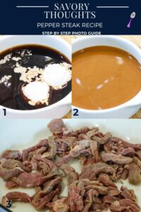 pepper steak step by step photo guide