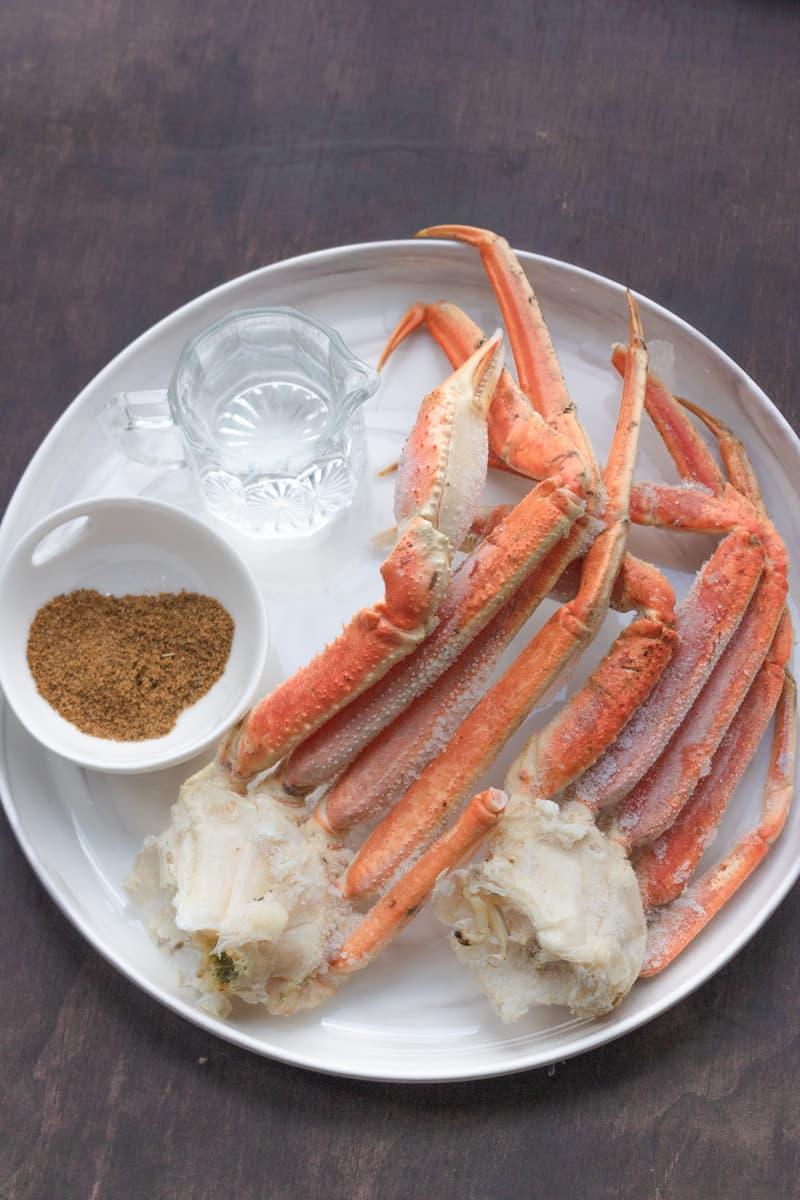 ingredients to make instant pot crab legs