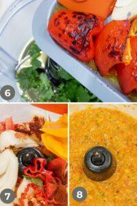 Habanero Mango Salsa Step by step guide - Mango Habanero Salsa Recipe - Savory Thoughts