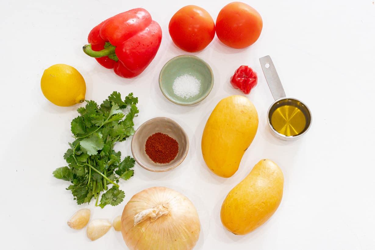 Ingredients - Mango Habanero Salsa Recipe - Savory Thoughts