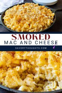 Smoked Mac and Cheese Pinterest Pin