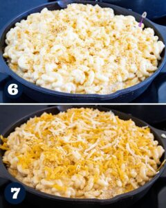 steps 6 to make Mac and cheese